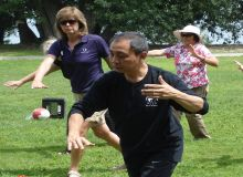 2014 Master Leung leading demo group